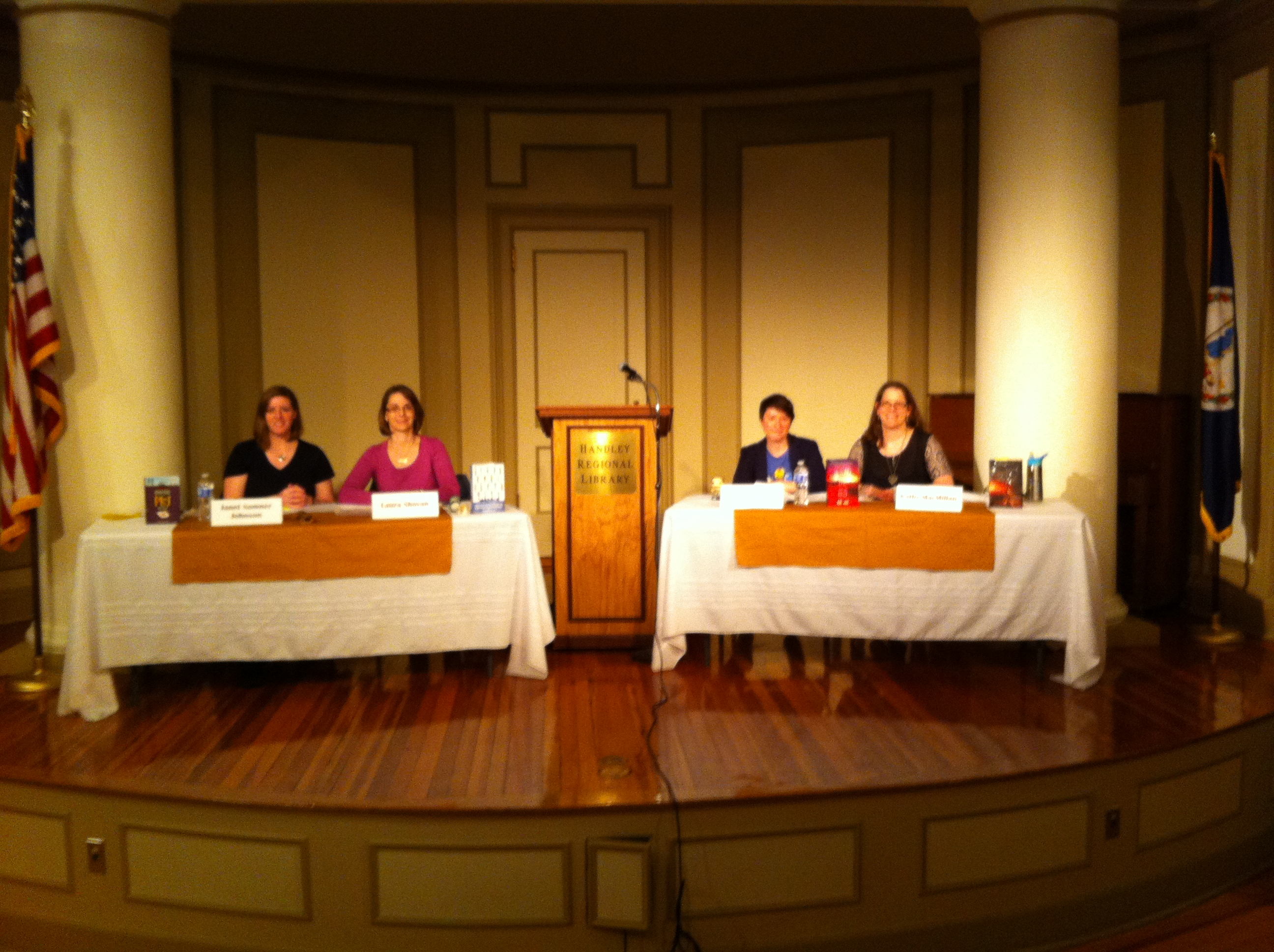 Handley Library, Author Panel