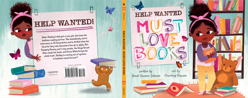 Jacket Cover reveal for Help Wanted: Must Love Books